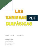 variedades diafásicas