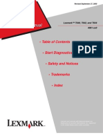 Manual de Servicio Lexmark T640 - T642 - T644