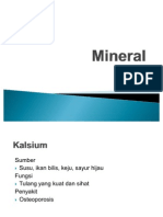 Minerals Form 2 Science