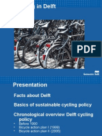 Presentation Cycling Policy Local Government of Delft 2008