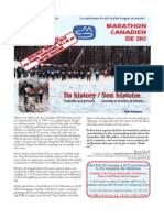 History Canadian Ski Marathon Poster