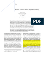 Classroom Applications of Research on Self-regulated Learning_paris_paris01