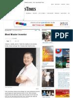 2012 Jan09 Meet Master Inventor - Tech - New Straits Times