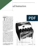Programmed Instruction Revisited_Skinner 1986
