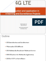 4G LTE an Introduction and Application in E-learning and Surveillance(Newroz Tel)