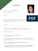 Curriculum Fernanda 2012