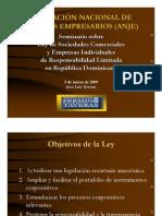 Seminario Sobre Ley Societaria (ANJE)