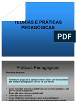 Teorias e Praticas Pedagogic As