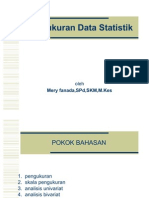 Pengukuran & Analisis Data Statistik