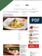 Ricetta Linguine Gamberetti Zucchine e Zafferano - Le Ricette Di GialloZafferano