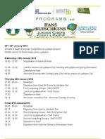 Programa Global Chefs Ljubljana