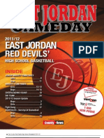 East Jordan Gameday Basketball