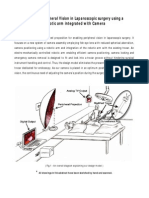 Enabling Peripheral Vision in Laparoscopic Surgery Using a Robotic Arm Integrated With Camera