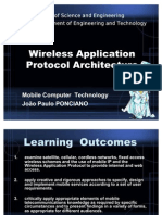 Lecture 12 - Wireless Application Protocol