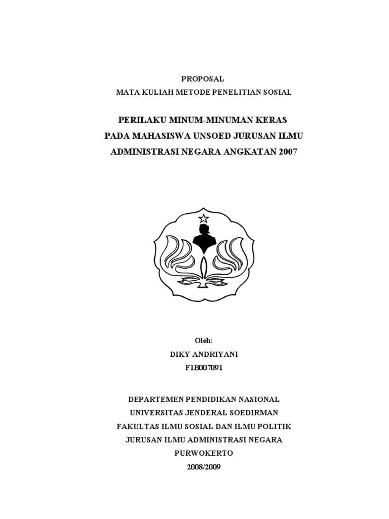 Contoh Proposal Penelitian Mps