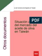 Estudio Mercado. Aceite de Oliva en Taiwan