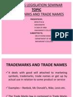 Trade Mark Presentation Veena Mam