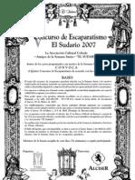 El Sudario 2007 - V Concurs Escaparat