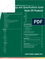 Asia Oil Product Specs