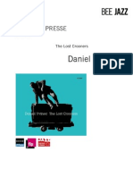 "Revue de presse de ""The lost crooners"" de Daniel Yvinec (BEE023)"