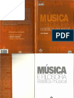 Música e Filosofia Estética Musical (Liá Tomas)