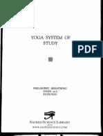 Yoga System of Study