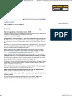 9-01-12 Europa podría evitar recesión FMI
