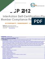 2012 Self-Certification-Plus Compliance Form