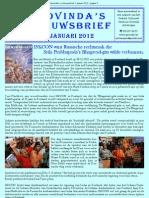 Govinda's_e-Nieuwsbrief_2012_JAN