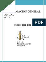 Programación General Anual 11/12