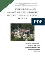 Organizarea Si Amenajarea Turistica a Spatiului Geografic Din tea Sinaia1