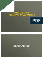 Sterilisation Produits Et Materiels