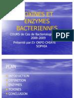 Toxines Et Enzymes Bacteriennes