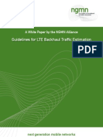 NGMN Whitepaper Guideline for LTE Backhaul Traffic Estimation