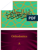 Definitions & Branches or Orthodontics