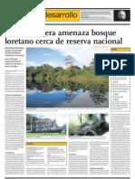 Reserva Natural en Peligro en Amazonía del Perú por industria de aceite.