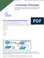 CCNA 1 Practice Final Exam V4