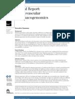 Cardiovascular Pharmacogenomics