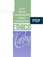 2012 Ethics of Caring Brochure
