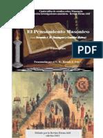 Dominguez y Gonzalez Fernando - El Pensamiento Masonico 1