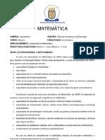 Campus Jacarezinho - Matemática2