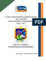 Plan de Desarrollo Jala 2008