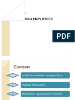 Chapter 4 _ Motivating Employees