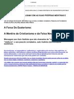 2012 BILLY MEIER - TRANSIÇÃO PLANETÁRIA  2012 VERDADEIRA