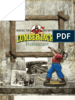 Lumberjacks Menu
