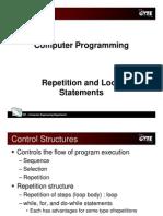 C programming language - repetition
