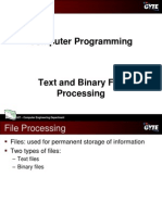 C programming language - Files
