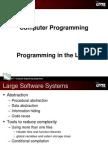 C programming language - ProgrammingInLarge