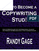 How to Become a Copywriting Stud - Randy Gage
