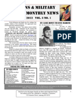 Veterans & Military Families Monthly News-January 2012